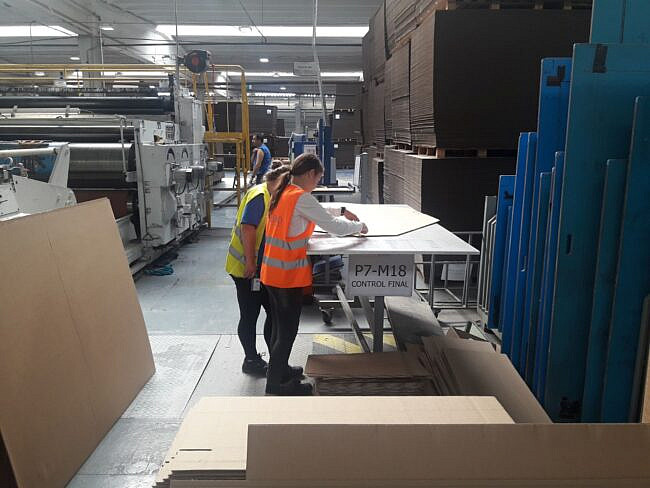 """18 elevi au obținut calificarea de """"Operator în fabricarea celulozei și hârtiei"""""""