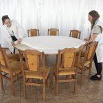 Bază materială - sală pentru servit masa