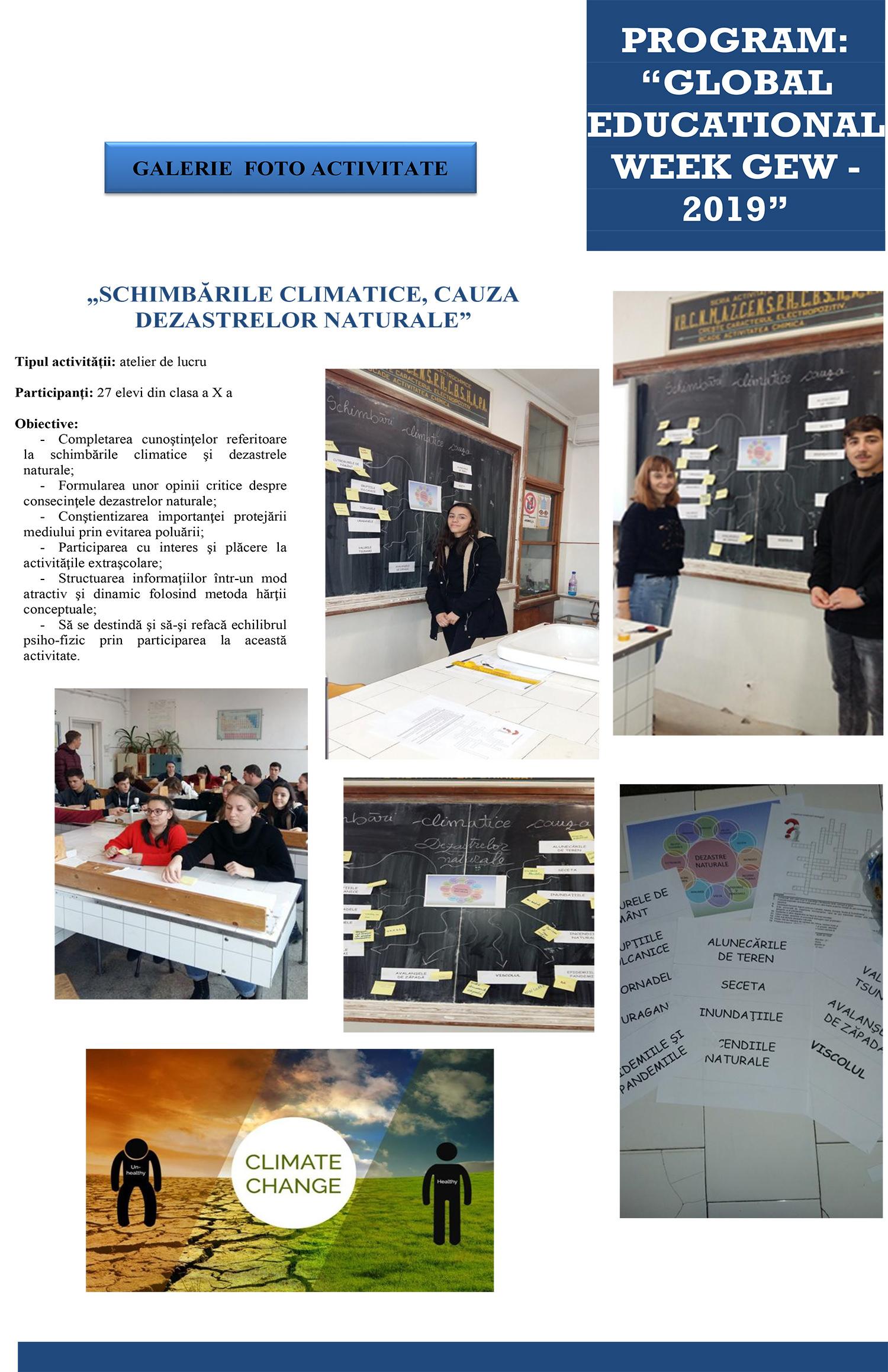 GLOBAL EDUCATIONAL WEEK GEW