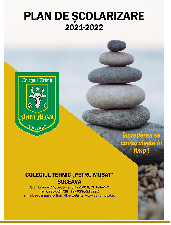 Plan de școlarizare 2021-2022
