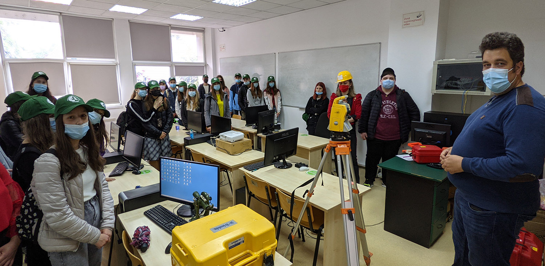 Vizită de studiu la Facultatea de Silvicultură din cadrul Universității Ștefan cel Mare din Suceava
