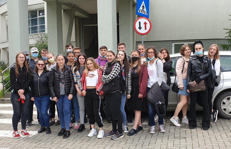 Vizită la Facultatea de Inginerie Alimentară din cadrul Universității Ștefan cel Mare din Suceava
